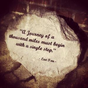journey one step